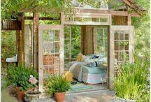 Dreaming af a greenhouse (slash studio)