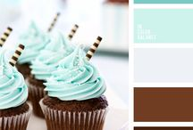 ~ MINT & BROWN Combo ~ / Anything related to the association of these 2 colours.