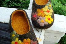 plstěné boty