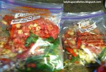 Freezer to Crockpot to Table Meals / by Julie Eaves