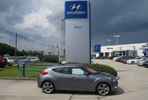 SOLD!! BRAND NEW!! 2013 Hyundai Veloster $21,930 Stock #5505 / Year:2013 Make:Hyundai Model:Veloster Series:Ecoshift DCT Body:2 Dr Coupe Engine:1.6L 4Cyl Transmission:Automatic Tiptronic Miles:17 Price:$21,930