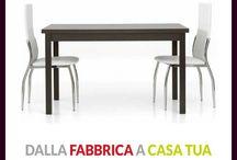 Tavoli e Sedie Moderni / La collezione di tavoli e sedie in stile moderno che puoi avere estratta in esclusiva dal Catalogo https://www.magazzinosottocosto.it/