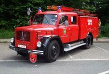 Historische vrachtwagens