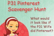 My P31 Wife Scavenger Hunt
