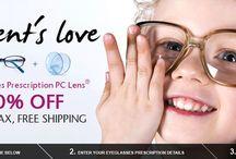 Parent's Love Kids Glasses  / Kid Glasses Prescription PC Lens 30% Off  No Tax and No Shipping