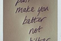 inspiring words / by Beth Pahel