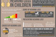 Hearing loss / by Allison Davis