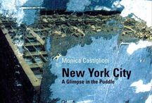 A glimpse in the puddle -my book of reflections in NyC