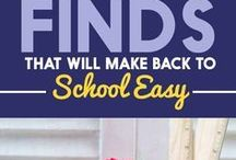 Back To School / Tips, Tricks and Recipes for jumping into the back to school routine.