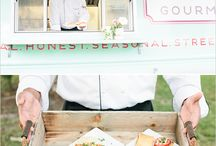 Funky Wedding Street Food / Fun ideas for street food at your wedding