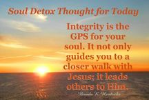 Soul Detox Thought for Today
