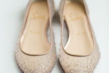Bridal Shoes / Inspiration to modern bridal shoes.