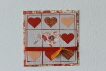 sewing cards  / cards