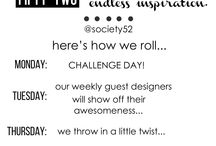 Papercrafting ~ Challenges
