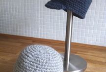 Crochet hats adult and children