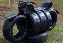 Garden tyres