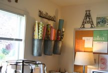 Craft room / by Kirsten Nutter