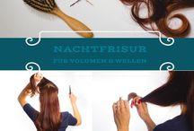 Haarbande / 13 Bloggerinnen, ein Motto:  Love, Peace & Hair