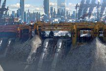 Futuristic Inspiration / Cyberpunk