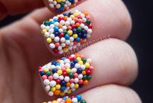 nail art candy/gluttony