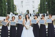 Bridal Party Ideas / Creative ideas for your bridal party