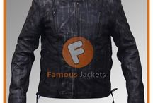 Vulcan NF-8150 Distressed Biker Leather Jacket