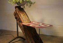 Tavoli in legno di recupero