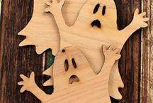 Halloween en madera