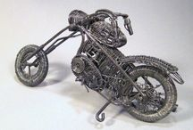 Motocykle handmade