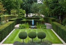 Franse-tema tuin