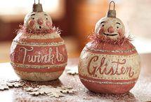 Vintage Ornaments