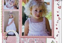 Scrapbook girls pages