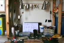 Work Desk / by Orecchini Fai da Te