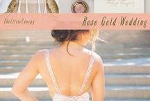 Gold blush and rose