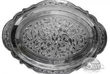 Столовое серебро Кубачи