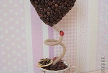 Káva dekorace