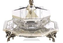 Silver Honey and Sugar Dishes / #Sterling #Silver #Honey and #Sugar Dishes
