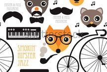 Hipster Animals / Hipster Animals