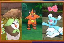 Evoluciones de los iniciales y demo de Pokémon Sol y Luna