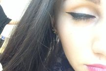Makeup åk 1 / första sminkningen