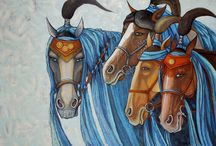 Equine Art / by Candy Bonds