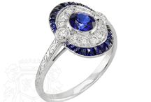 Vintage/Antique Sapphire Jewels / Our collection of antique or vintage sapphire jewelry, plus some of the world's most recognized pieces of fine jewelry from top jewelry design houses.