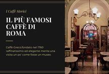 Il più famosi caffè di Roma