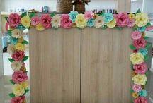 panou floral