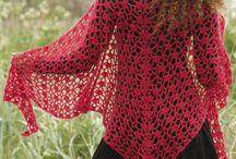 scarf ,shawl , cowl , crochet