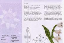 Scheme flori crosetate