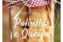 Biscoitinhos de povilho e queijo