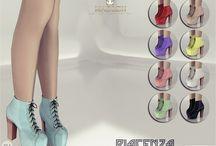 ts4 cc Women Boots