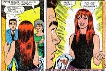 Mary Jane Watson / Peter Parker's (first) wife (until the marriage was wiped out by Mephisto), Mary Jane is Marvel's most famous redhead.