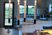 Cool Christmas / Christmas candles, christmas crowns, pixies · all very cool Danish design.